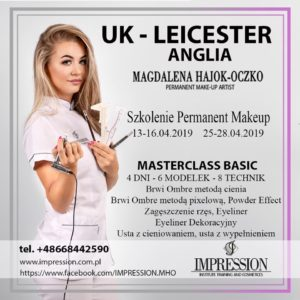 Szkolenia UK makijaż permanentny